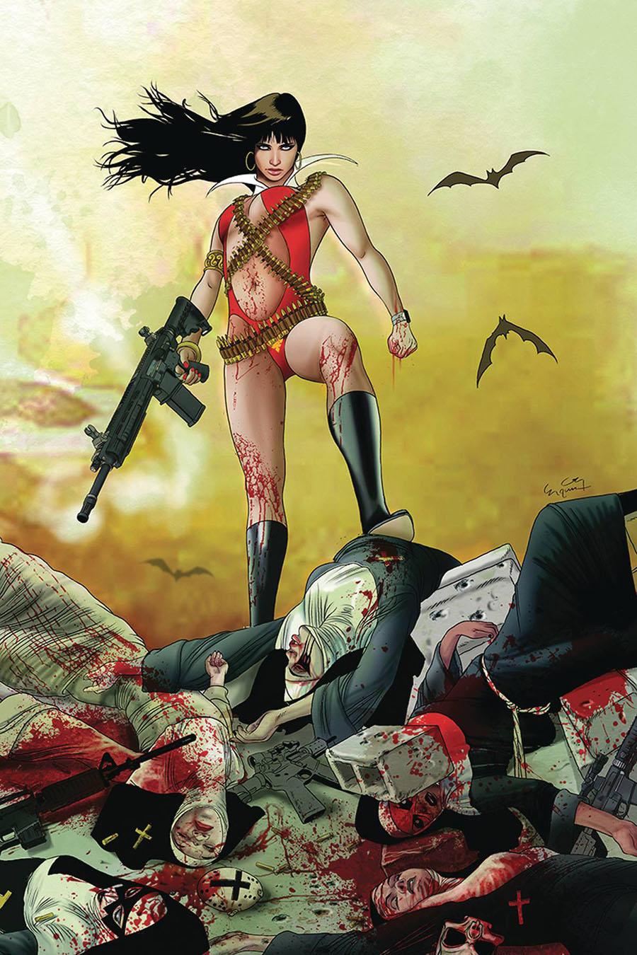 Vampirella Vol 8 #10 Cover Q Incentive Ergun Gunduz Virgin Cover