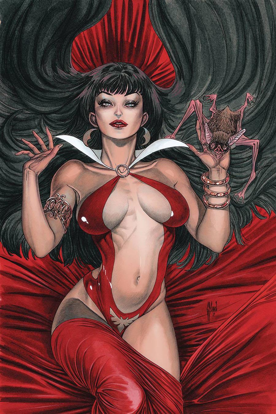 Vampirella Vol 8 #10 Cover S Incentive Guillem March Virgin Cover