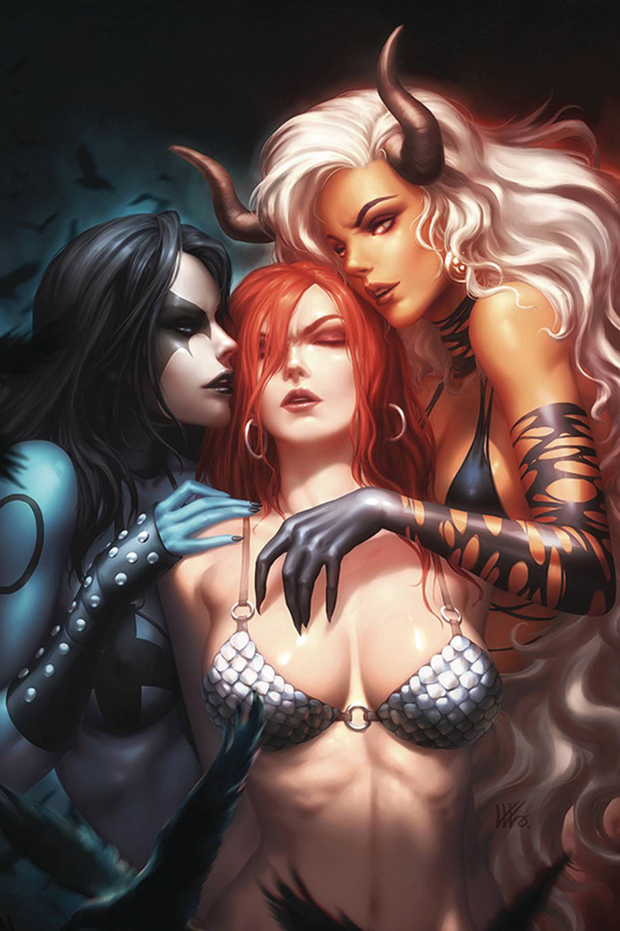 Red Sonja Age Of Chaos #4 Cover P Incentive Kunkka Virgin Variant Cover