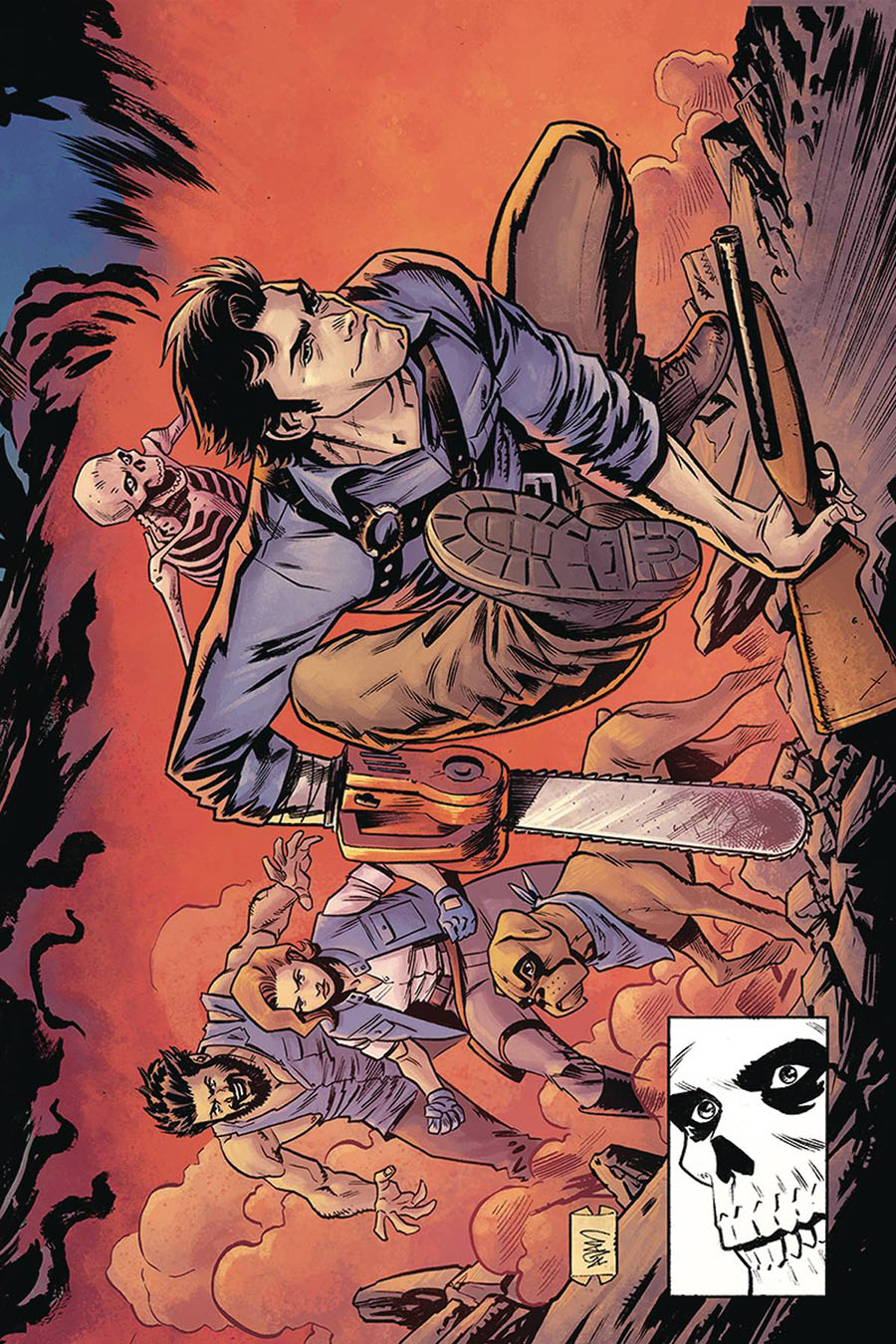 Death To The Army Of Darkness #3 Cover G Incentive Adam Gorham Todd McFarlane Homage Virgin Cover