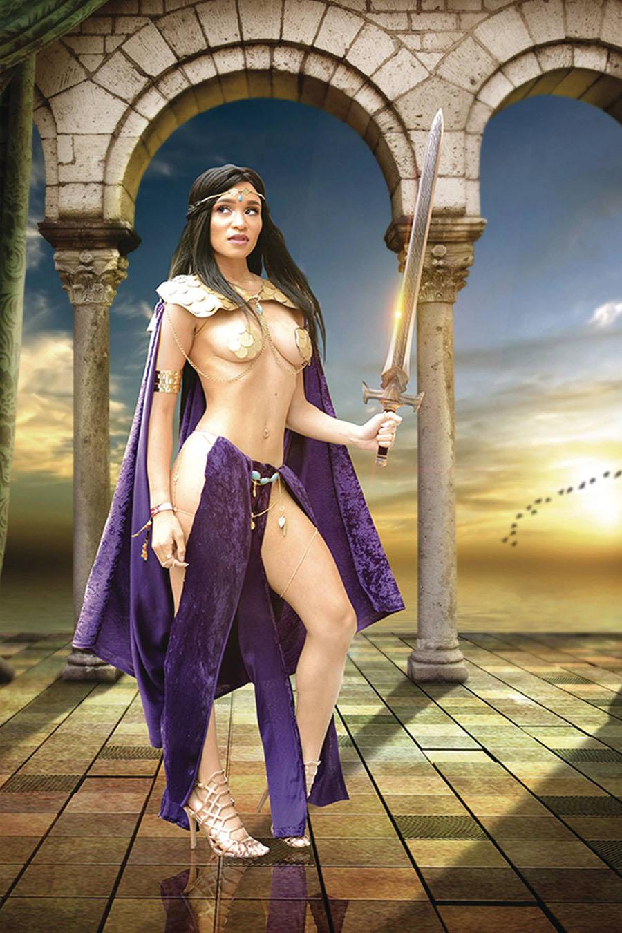Dejah Thoris Vol 3 #5 Cover O Incentive Mai S Cosplay Photo Virgin Cover