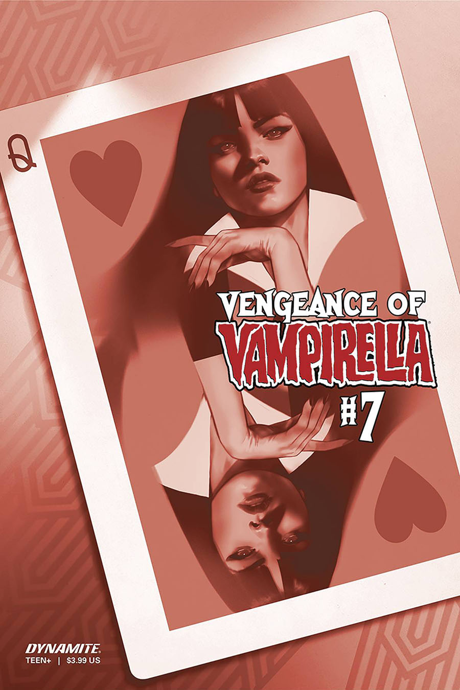 Vengeance Of Vampirella Vol 2 #7 Cover N Incentive Ben Oliver Tint Cover