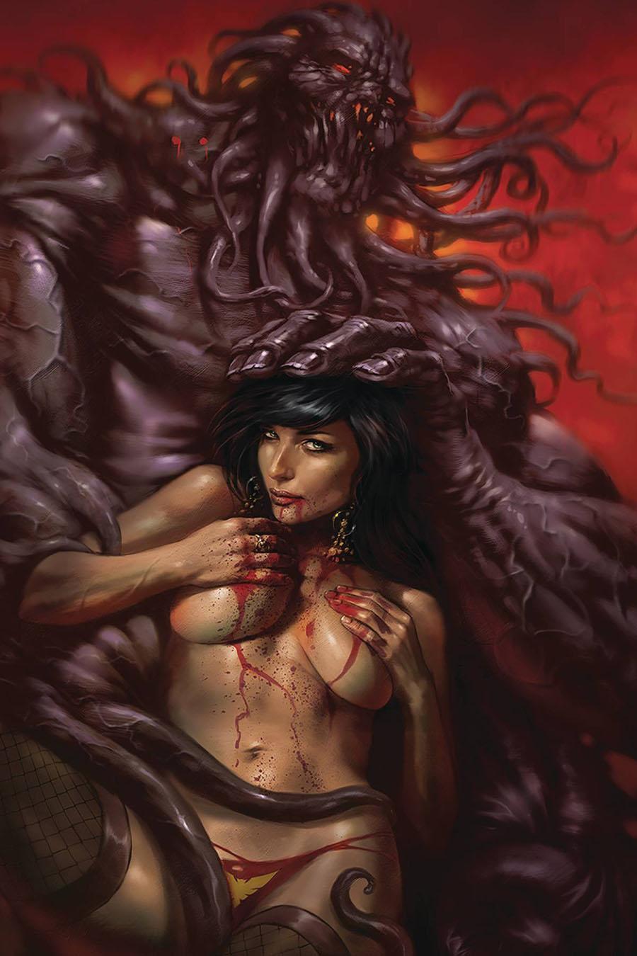 Vampirella Vol 8 #10 Cover U Limited Edition Lucio Parrillo Virgin Cover