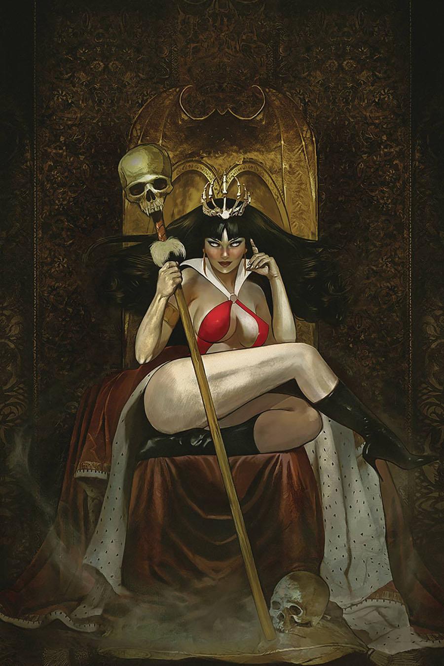 Vampirella Vol 8 #10 Cover V Limited Edition Fay Dalton Virgin Cover