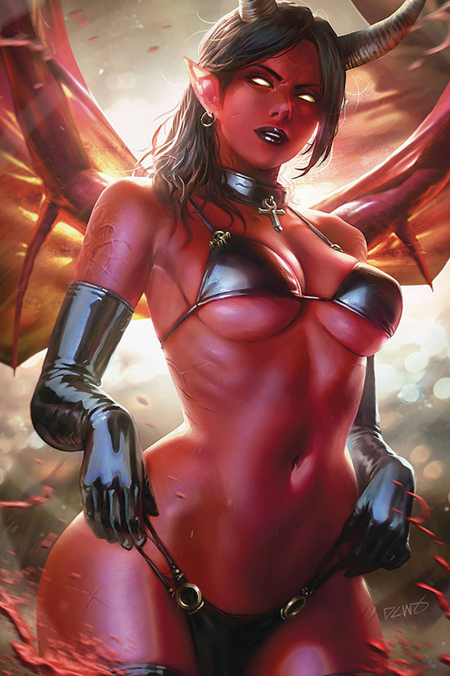 Red Sonja Age Of Chaos #4 Cover W Limited Edition Derrick Chew Virgin Cover