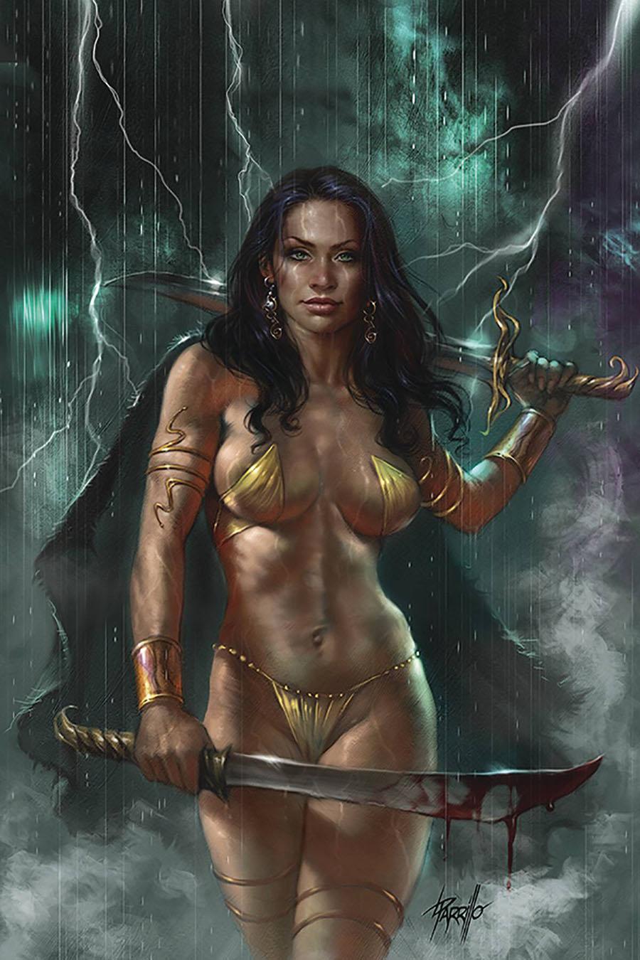 Dejah Thoris Vol 3 #5 Cover R Limited Edition Lucio Parrillo Virgin Cover
