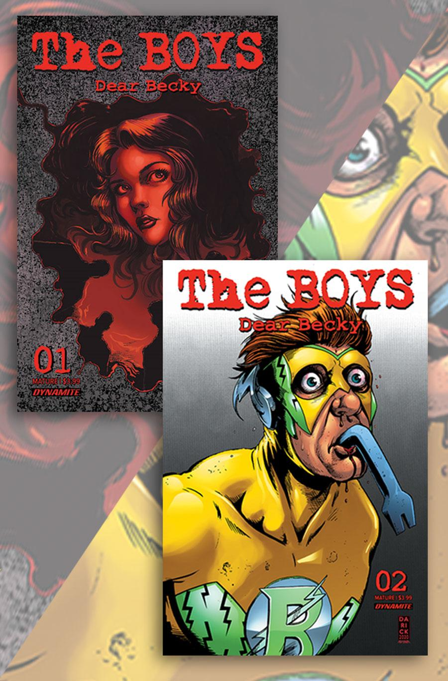 Boys Dear Becky #1 / 2 Combo Pack