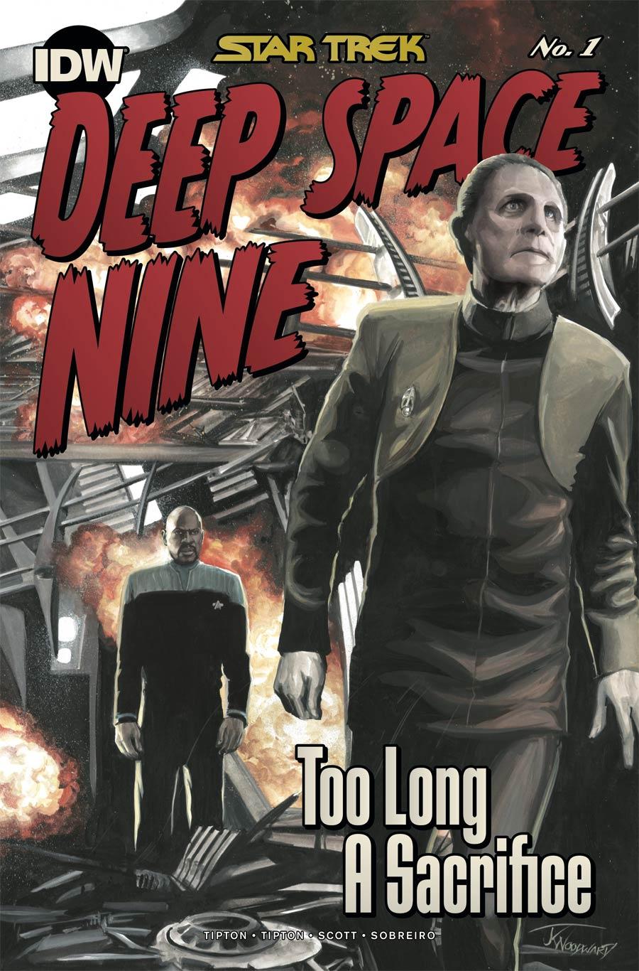 Star Trek Deep Space Nine Too Long A Sacrifice #1 Cover C Incentive JK Woodward Variant Cover