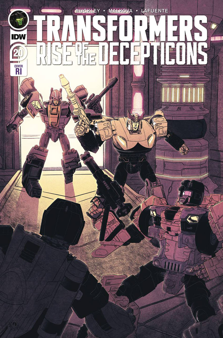 Transformers Vol 4 #20 Cover C Incentive Billie Montfort & Blacky Shepherd Variant Cover