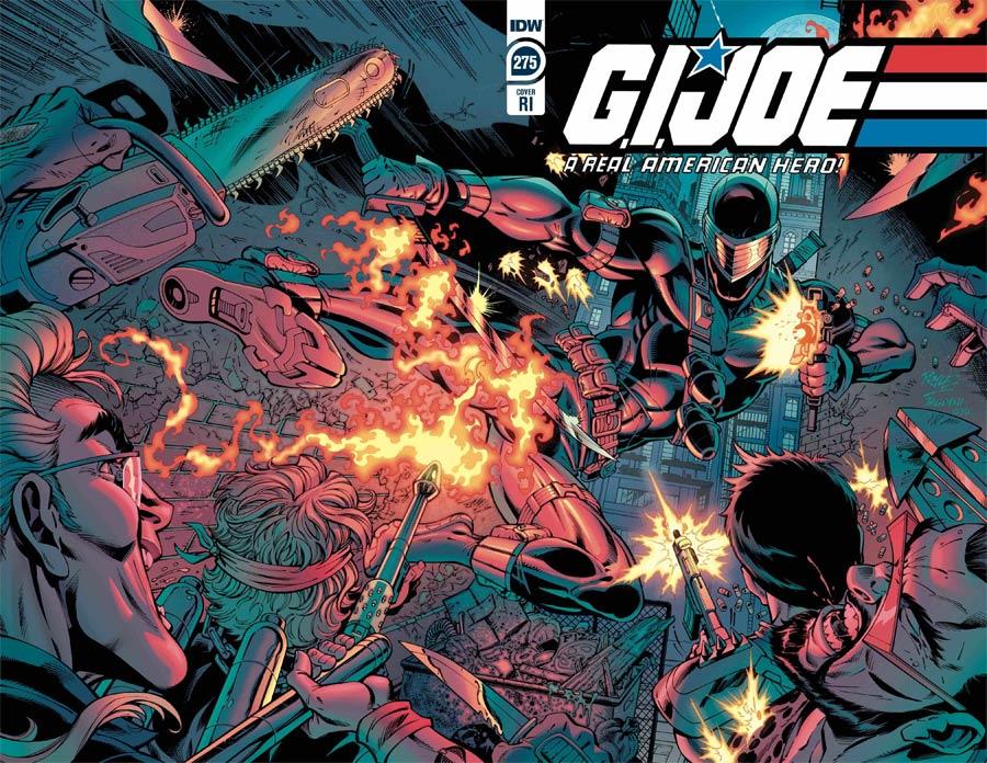GI Joe A Real American Hero #275 Cover C Incentive John Royle Wraparound Variant Cover
