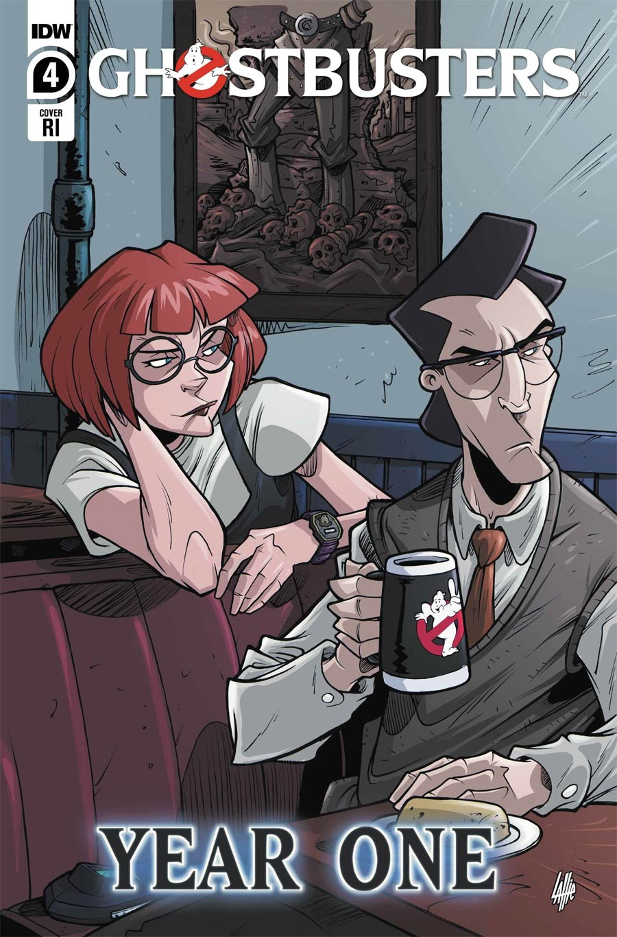 Ghostbusters Year One #4 Cover C Incentive Tim Lattie Fan-Favorite Art Alum Variant Cover