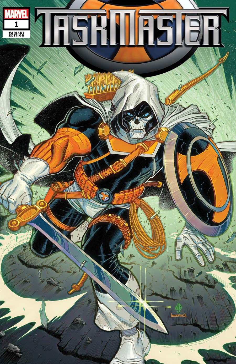 Taskmaster Vol 3 #1 Cover C Incentive Nick Bradshaw Variant Cover
