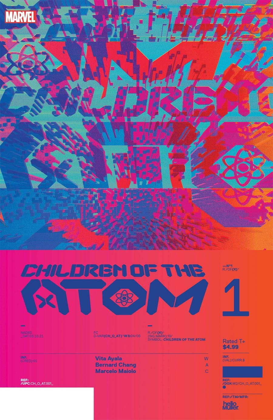 Children Of The Atom #1 Cover C Incentive Tom Muller Design Variant Cover (Limit 1 Per Customer)