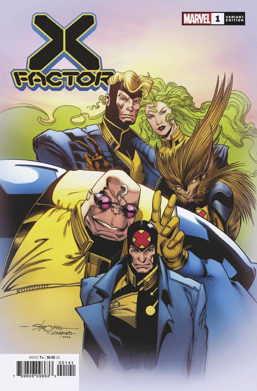 X-Factor Vol 4 #1 Cover F Incentive Larry Stroman Hidden Gem Variant Cover