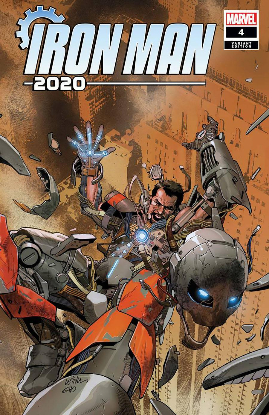 Iron Man 2020 #4 Cover E Incentive Leinil Francis Yu Variant Cover