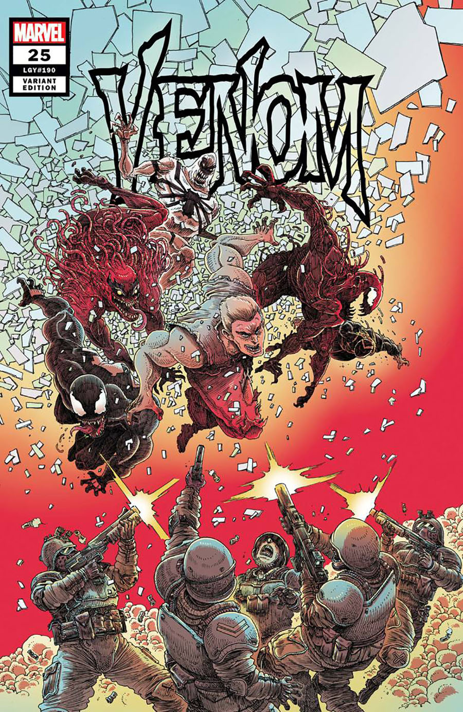 Venom Vol 4 #25 Cover G Incentive James Stokoe Variant Cover