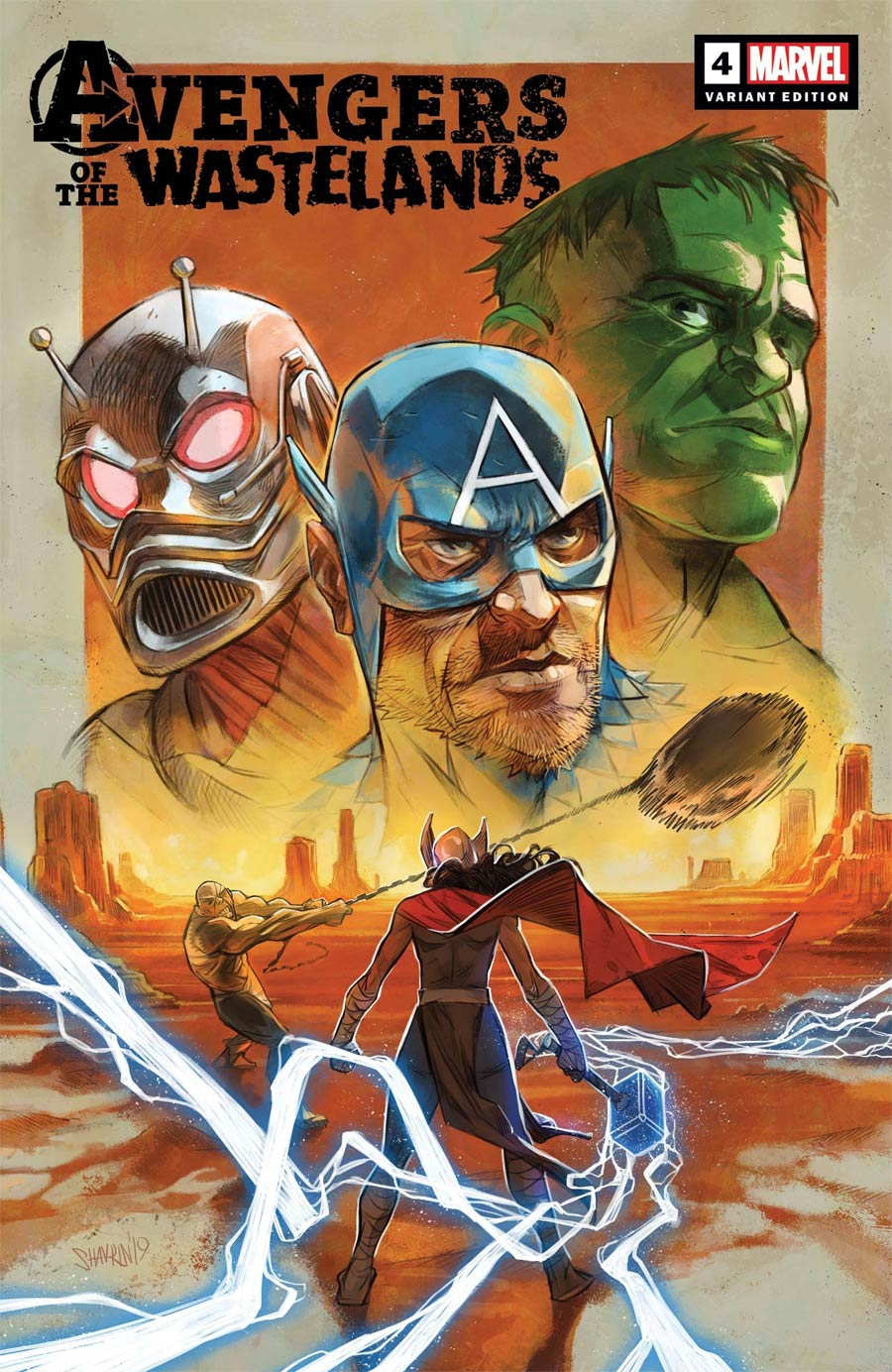 Avengers Of The Wastelands #4 Cover B Incentive Ivan Shavrin Variant Cover