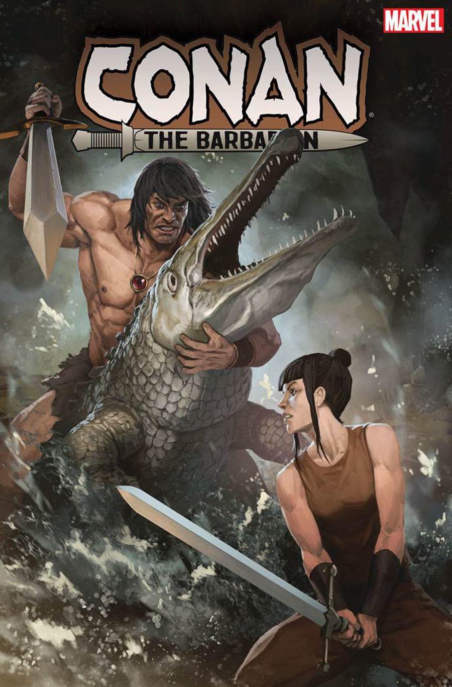Conan The Barbarian Vol 4 #15 Cover B Incentive Skan Variant Cover