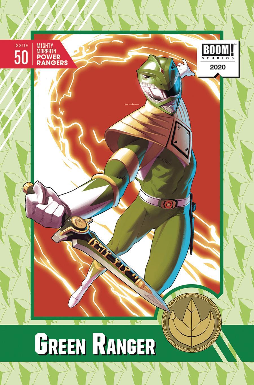 Mighty Morphin Power Rangers (BOOM Studios) #50 Cover E Incentive Kris Anka Variant Cover