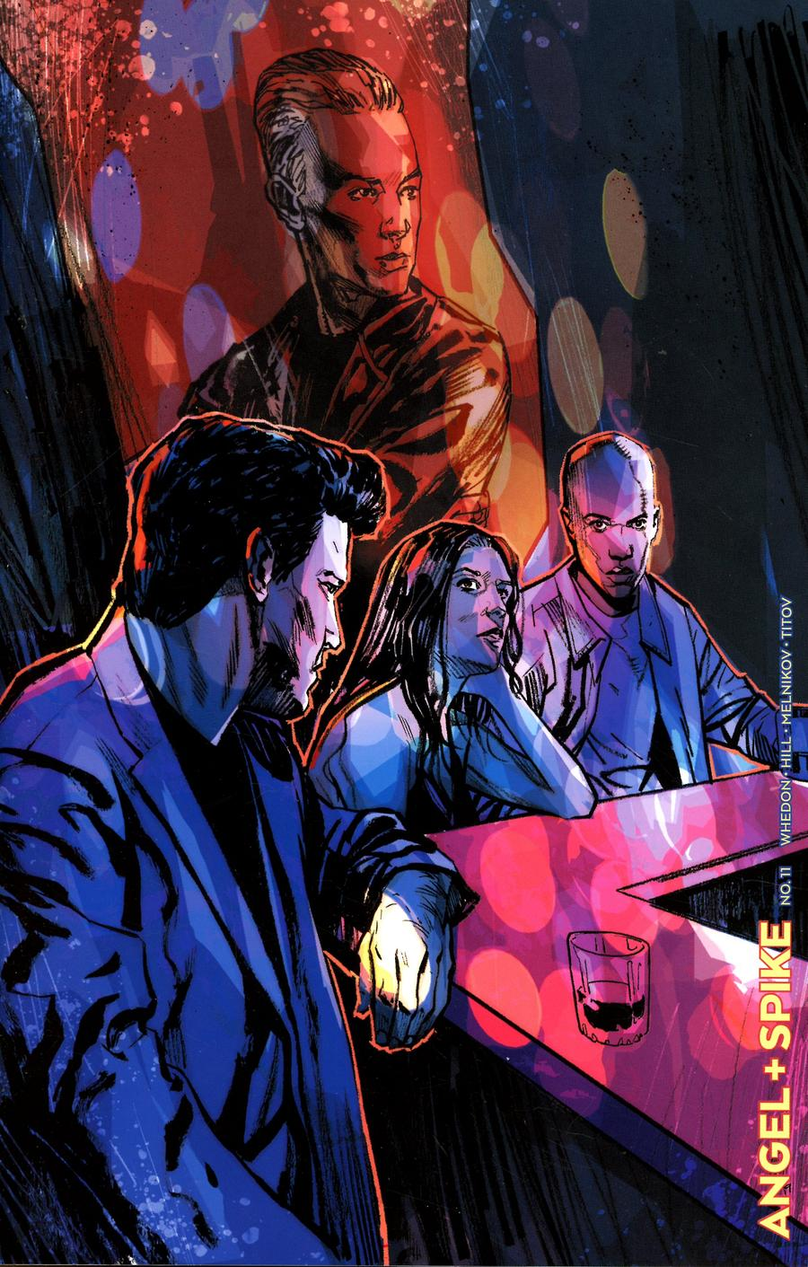 Angel & Spike #11 Cover E Incentive Jonas Scharf Variant Cover
