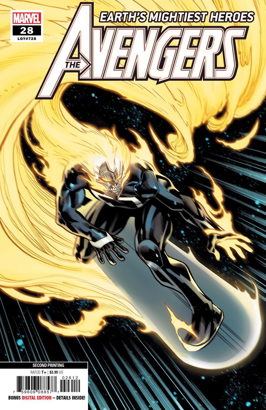 Avengers Vol 7 #28 Cover C 2nd Ptg Ed McGuinness Variant Cover