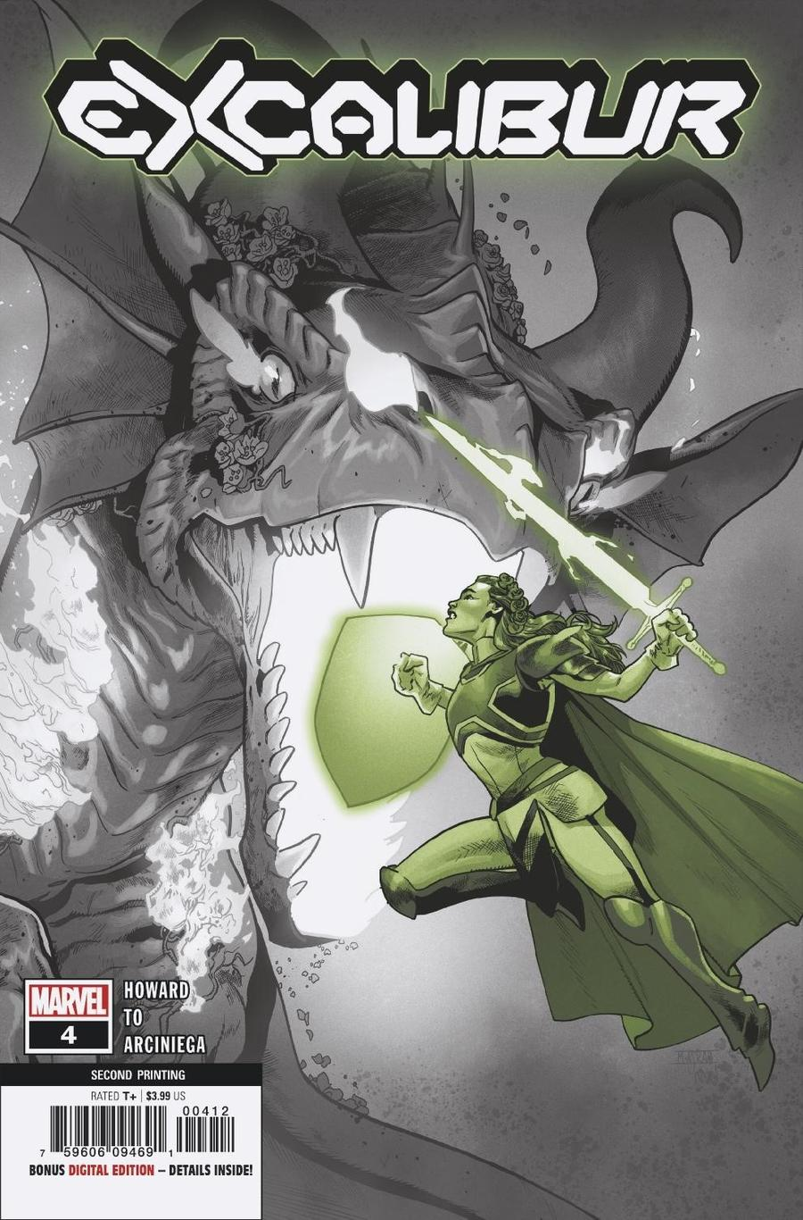 Excalibur Vol 4 #4 Cover C 2nd Ptg Mahmud Asrar Variant Cover (Dawn Of X Tie-In)