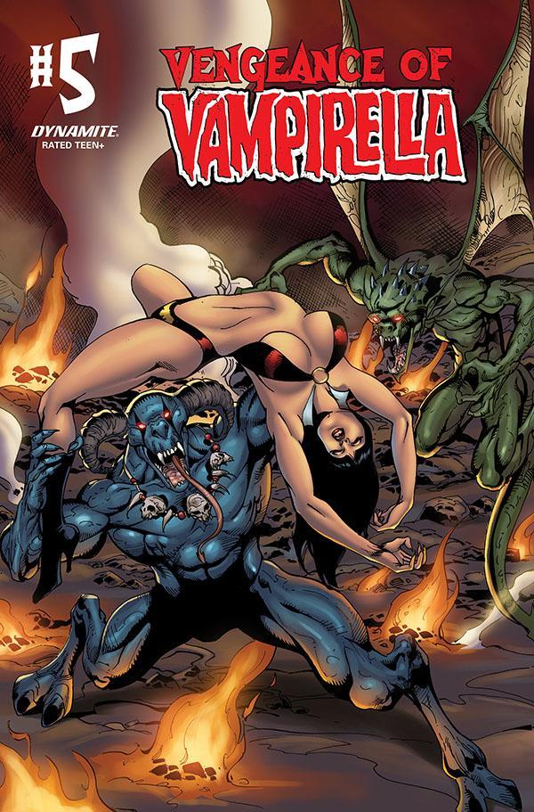 Vengeance Of Vampirella Vol 2 #5 Cover E Variant Roberto Castro Cover