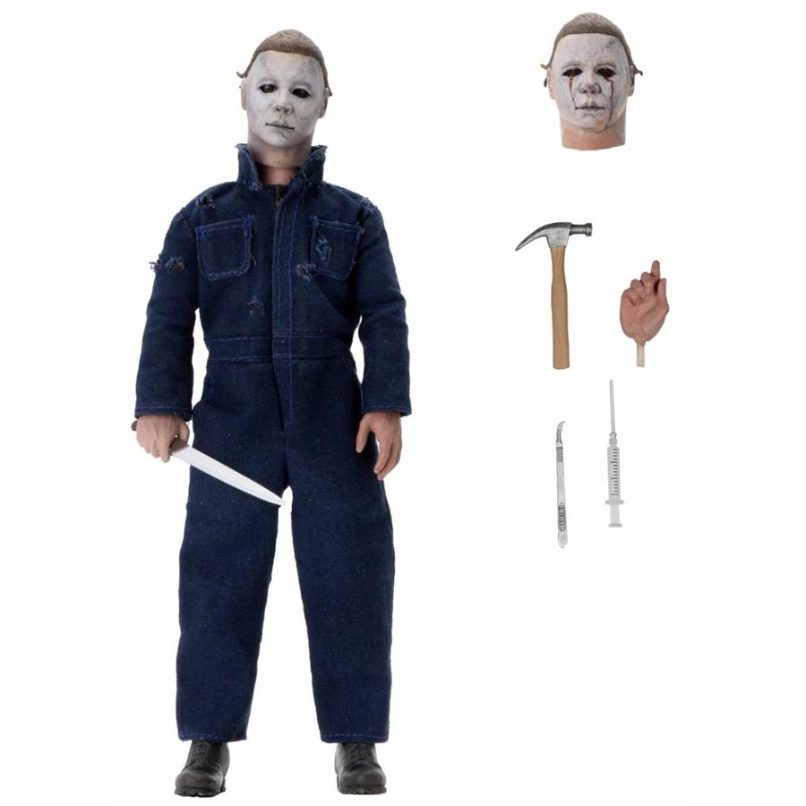 Halloween 2 Michael Myers Clothed 8-Inch Action Figure