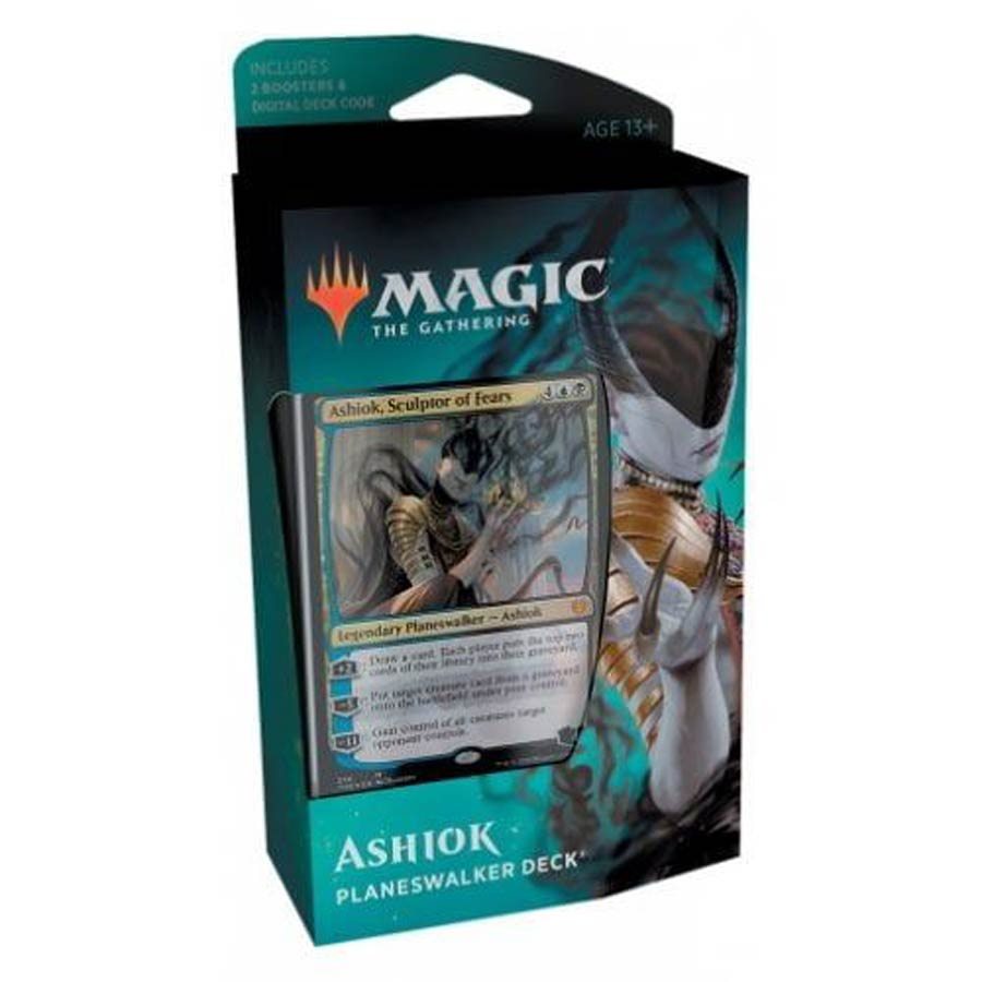 Magic The Gathering Theros Beyond Death Planeswalker Deck - Ashiok Sculptor Of Fears