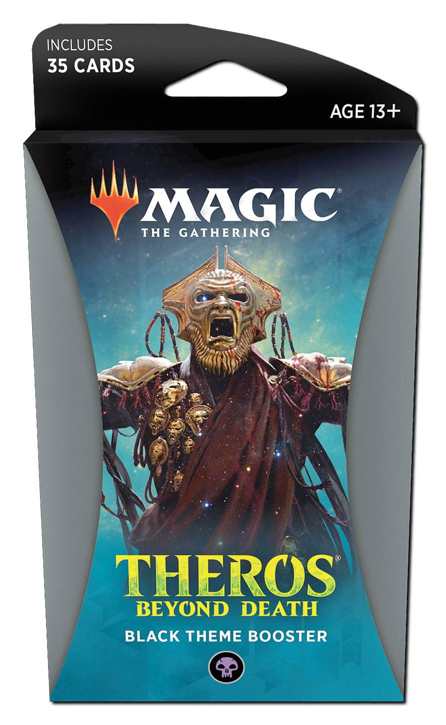 Magic The Gathering Theros Beyond Death Theme Booster Pack - Black