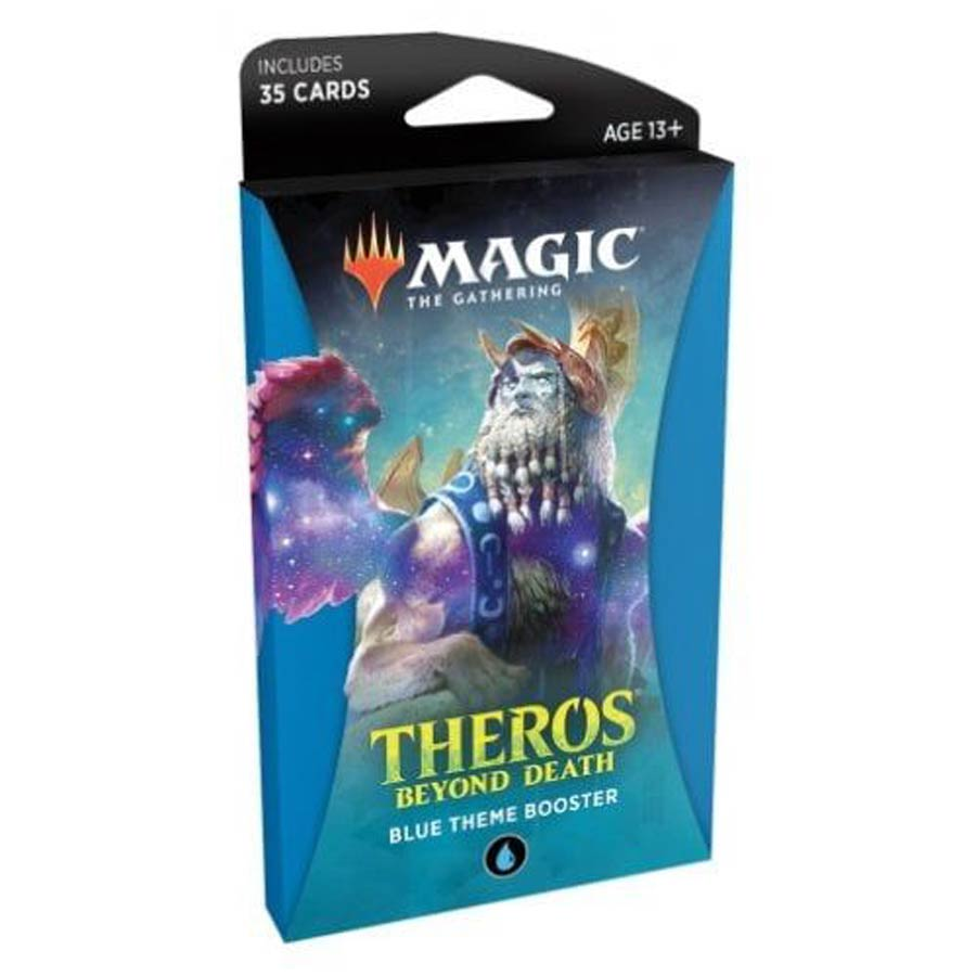 Magic The Gathering Theros Beyond Death Theme Booster Pack - Blue