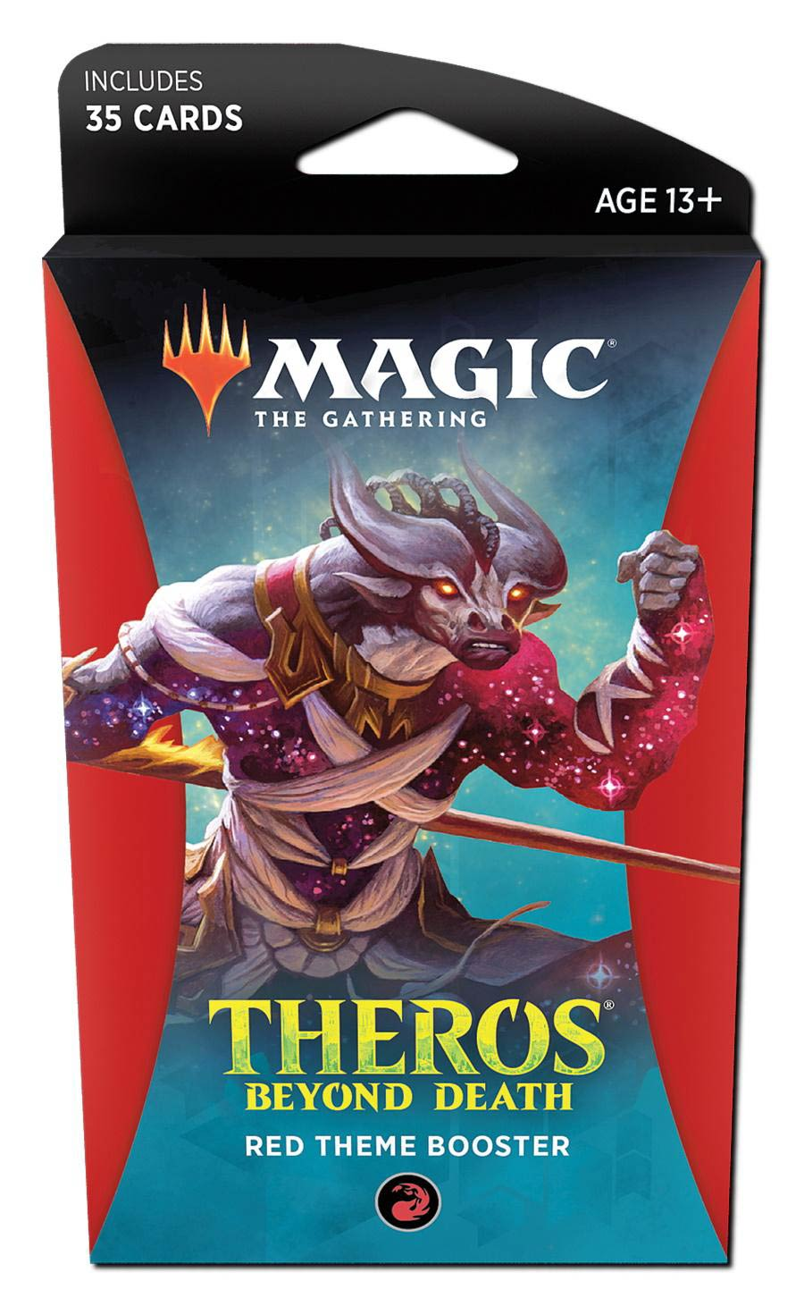 Magic The Gathering Theros Beyond Death Theme Booster Pack - Red