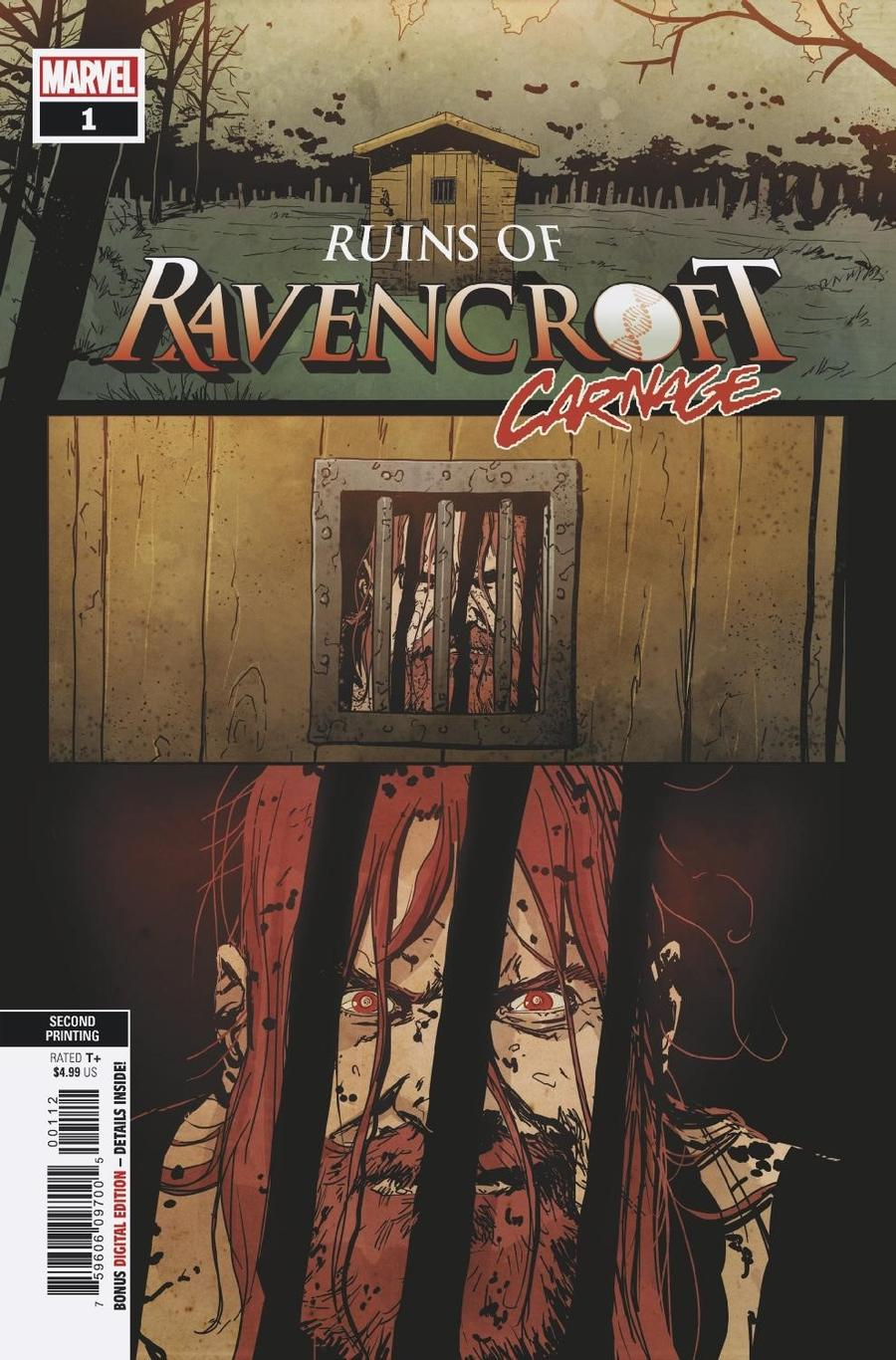 Ruins Of Ravencroft Carnage One Shot Cover C 2nd Ptg Variant Cover