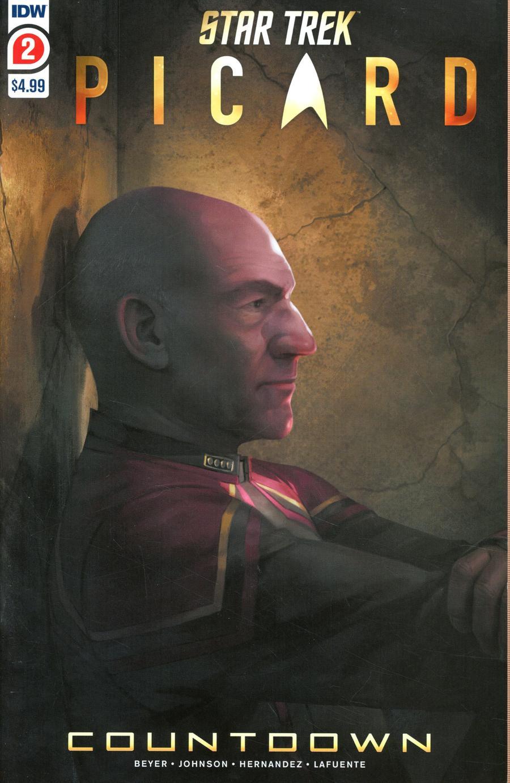 Star Trek Picard Countdown #2 Cover C 2nd Ptg