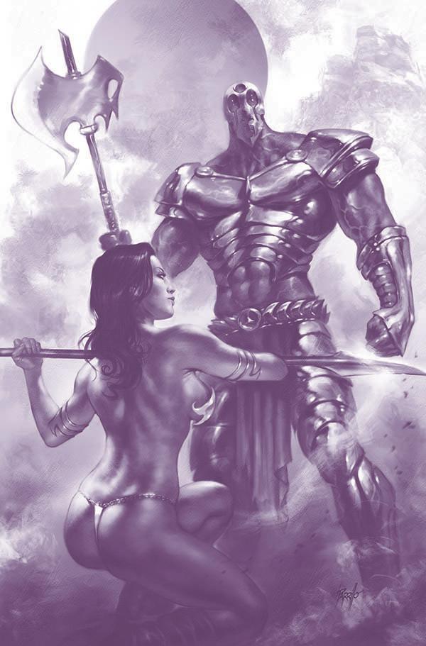 Dejah Thoris Vol 3 #3 Cover N Incentive Lucio Parrillo Tint Virgin Cover