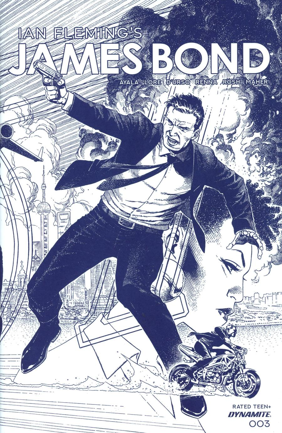 James Bond Vol 3 #3 Cover C Incentive Jim Cheung Tint Dressed Cover