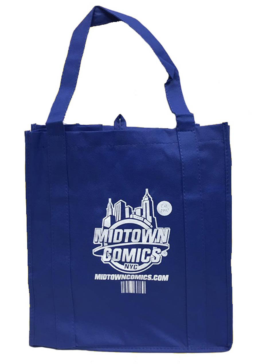 Midtown Comics Logo Recycled Shopper Tote (14.5-in x 13-in x 10-in)