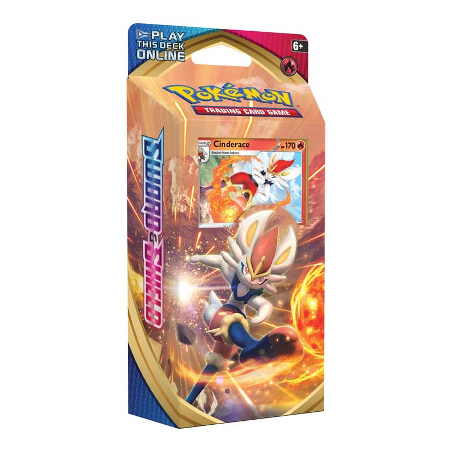 Pokemon TCG Sword And Shield Theme Deck - Cinderace