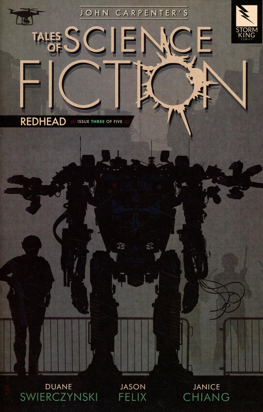 John Carpenters Tales Of Science Fiction Redhead #3 Cover A Rail