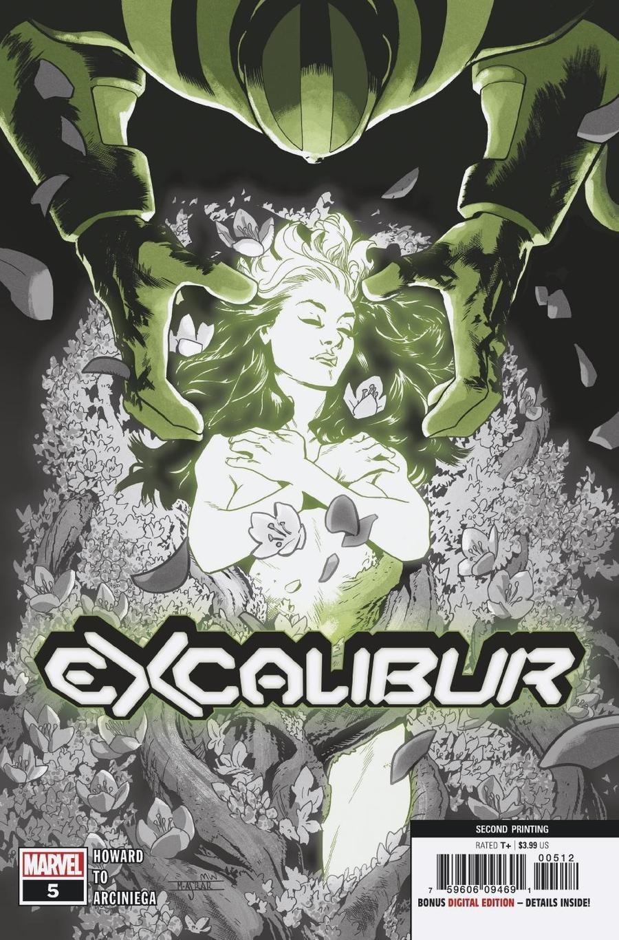 Excalibur Vol 4 #5 Cover D 2nd Ptg Mahmud Asrar Variant Cover (Dawn Of X Tie-In)