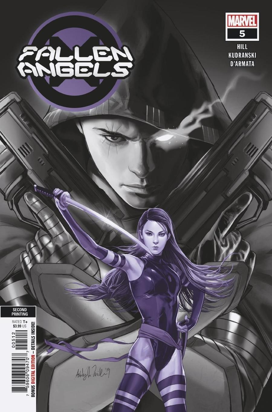 Fallen Angels Vol 2 #5 Cover C 2nd Ptg Ashley Witter Variant Cover (Dawn Of X Tie-In)