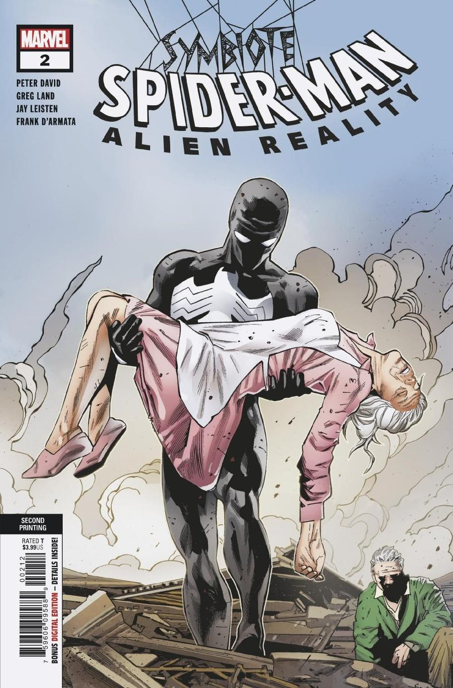 Symbiote Spider-Man Alien Reality #2 Cover E 2nd Ptg