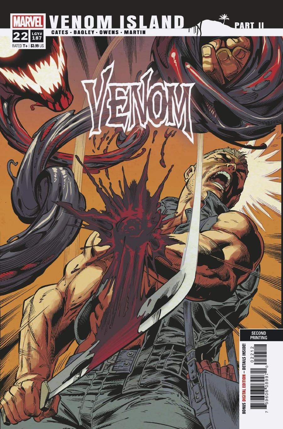 Venom Vol 4 #22 Cover E 2nd Ptg