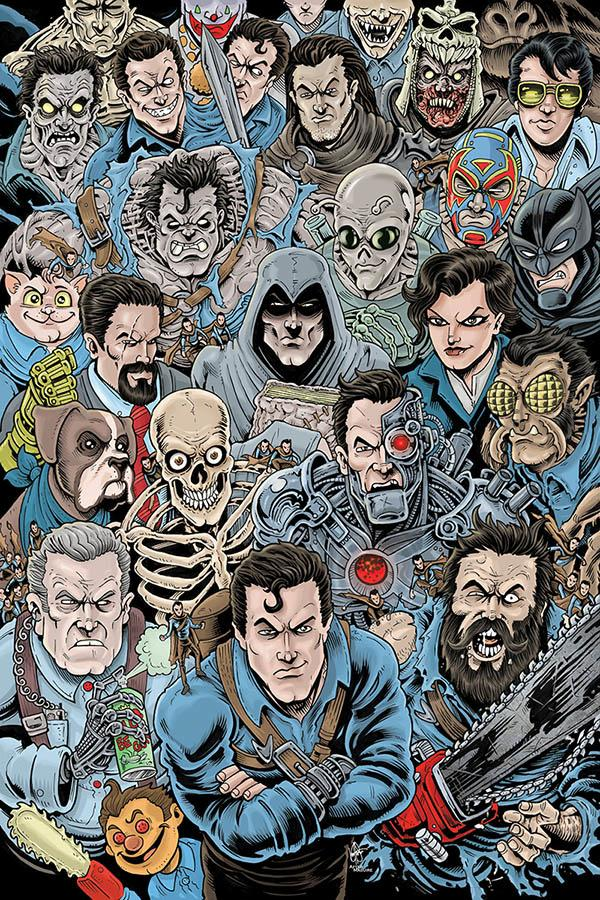 Death To The Army Of Darkness #1 Cover I Incentive Ken Haeser Virgin Cover
