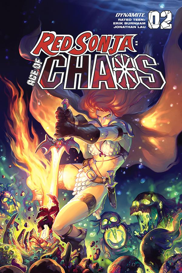 Red Sonja Age Of Chaos #2 Cover F Variant Meghan Hetrick Cover