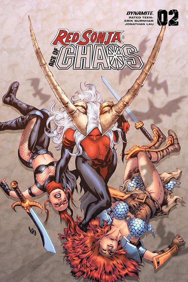 Red Sonja Age Of Chaos #2 Cover G Variant Jonathan Lau Cover