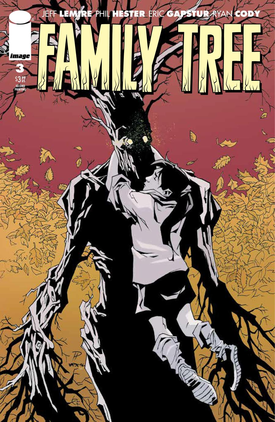 Family Tree #3 Cover B 2nd Ptg