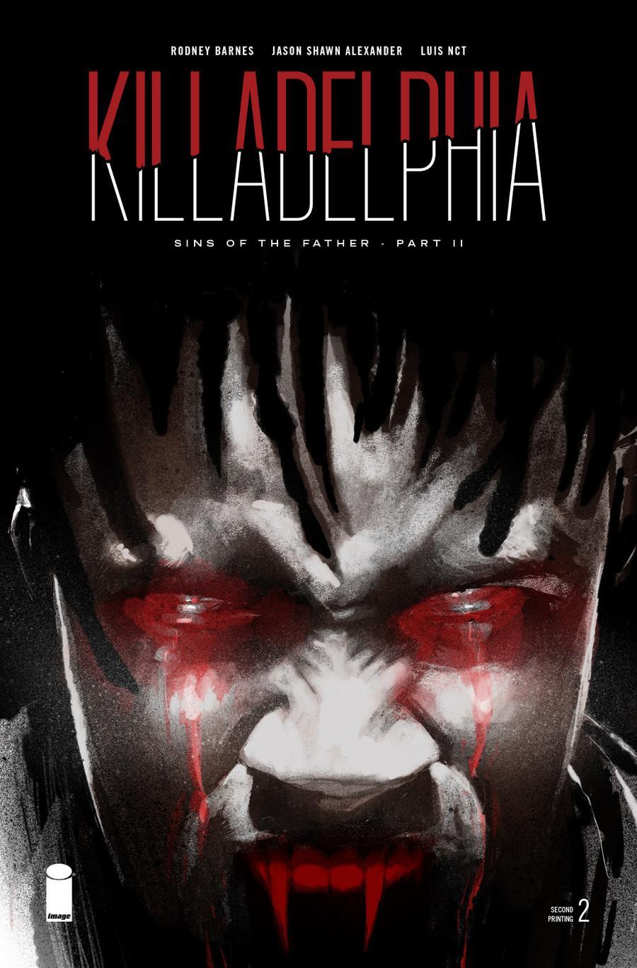 Killadelphia #2 Cover C 2nd Ptg