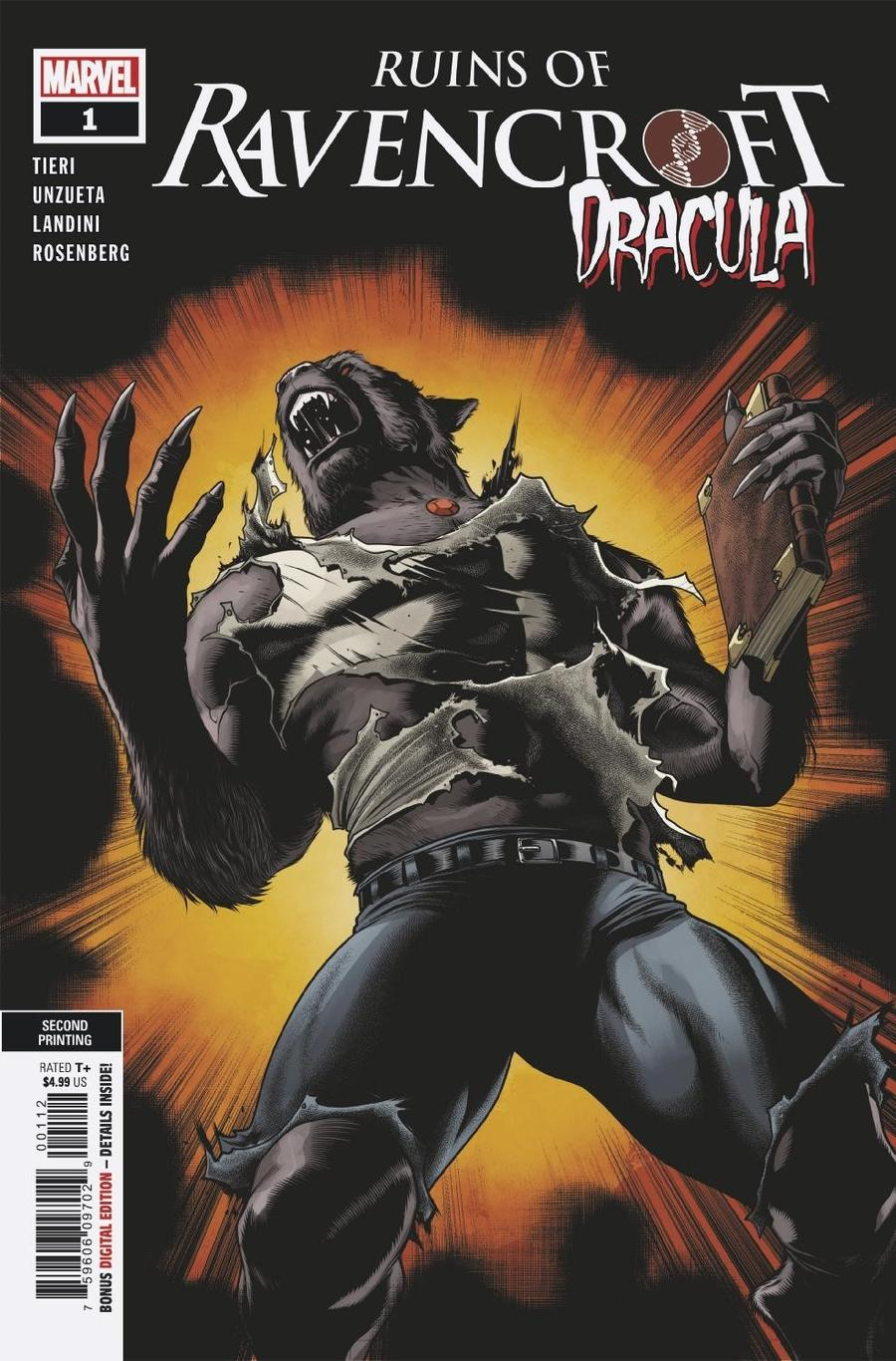 Ruins Of Ravencroft Dracula One Shot Cover C 2nd Ptg Variant Cover