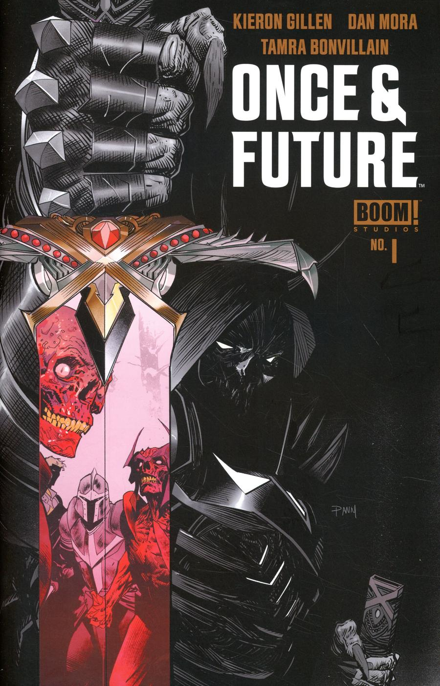 Once & Future #1 Cover I 8th Ptg